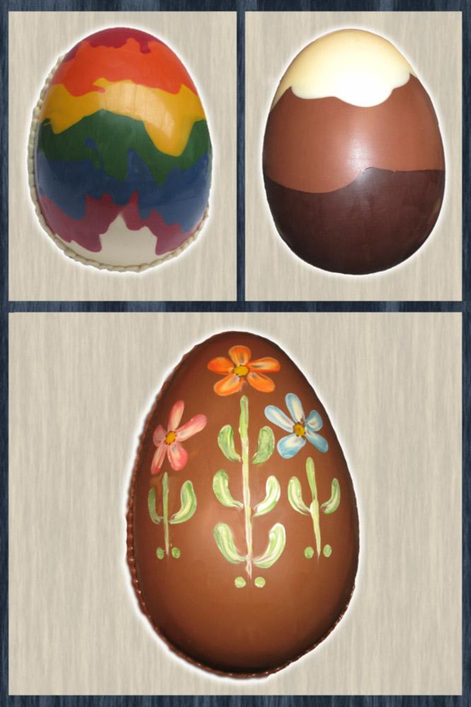 Huevos de pascua gigantes decorados - Huevos decorados de pascua ...
