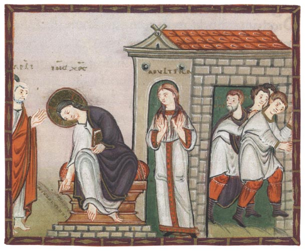 La adultera-codex-egberti-s-x