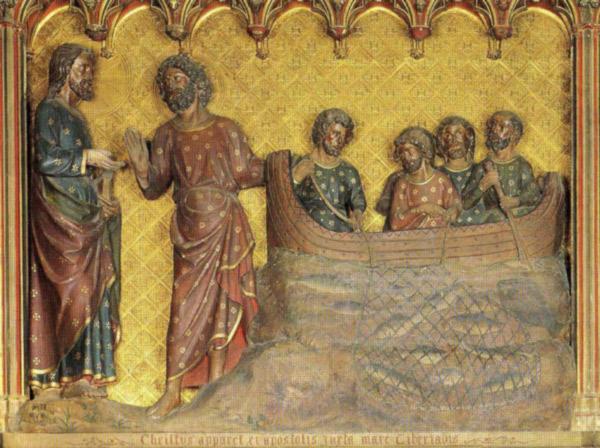 Aparición de Jesús en el lago de Tiberíades