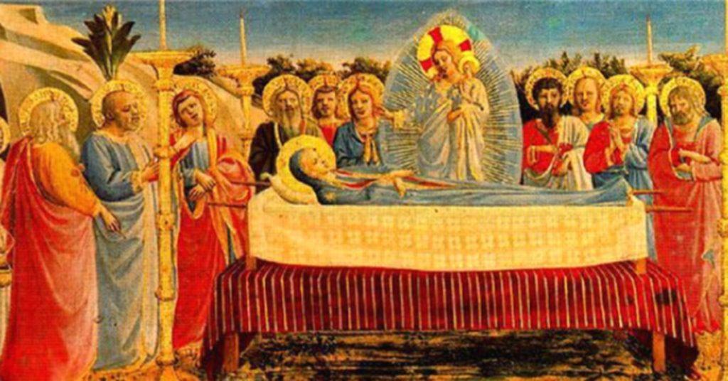 La-dormicion-dela-Virgen