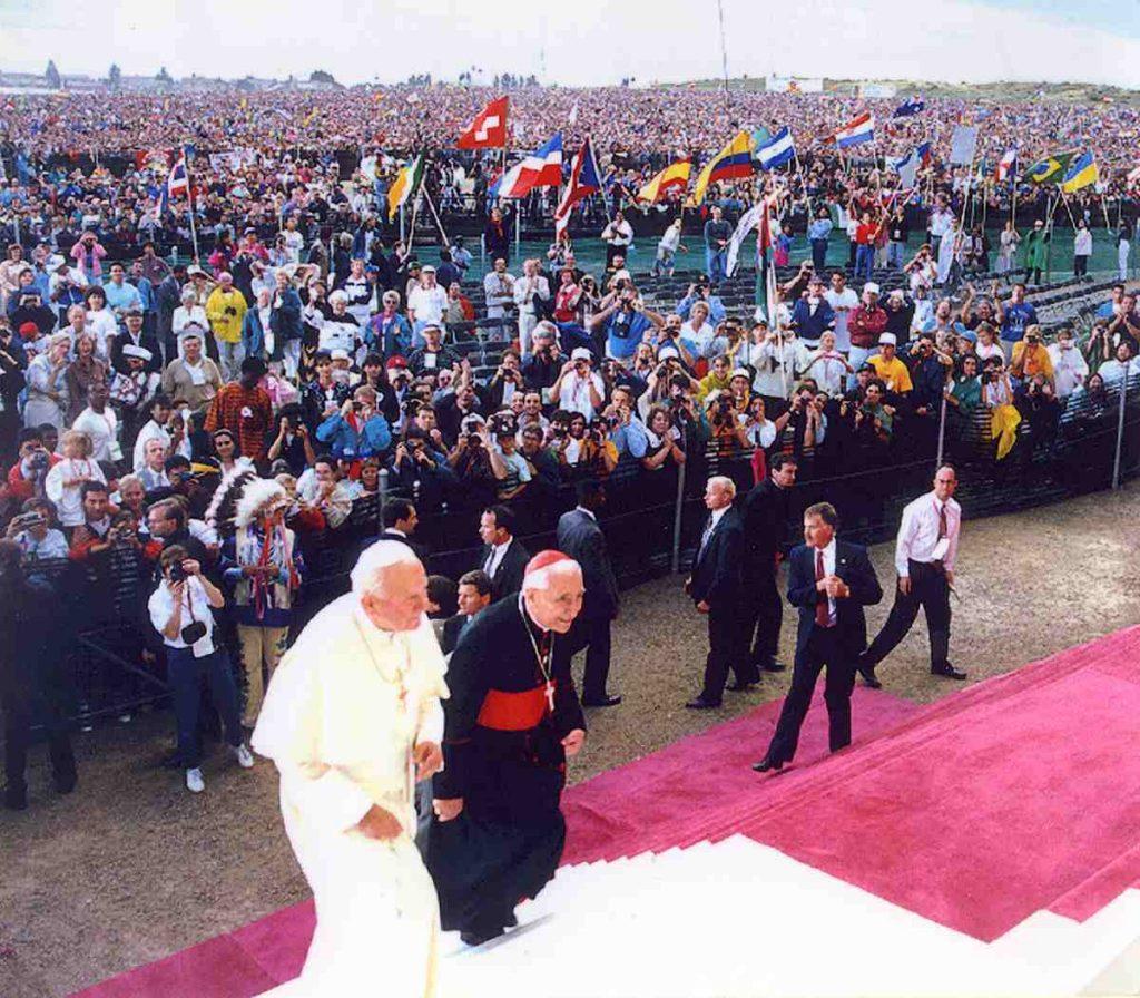 Juan Pablo II en Denver 1993